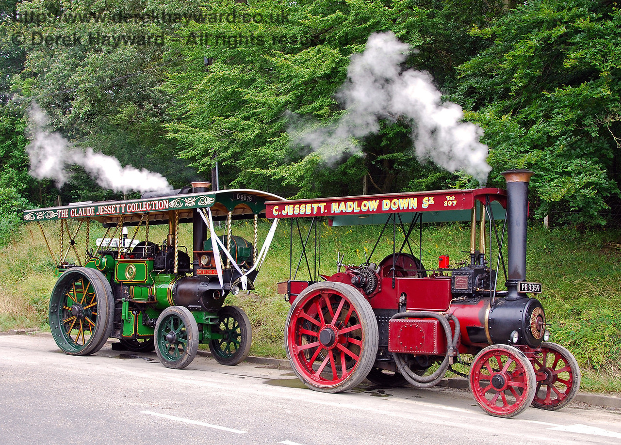 Two traction engines HK 160808 140 E