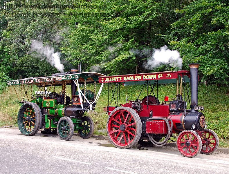 Two traction engines HK 160808 139 E