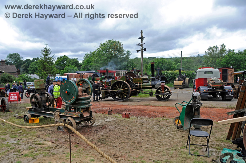 Road meets Rail, Horsted Keynes, 16.06.2019 19402