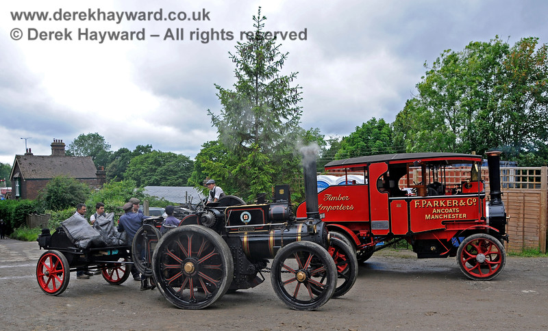 Road meets Rail, Horsted Keynes, 16.06.2019 19386