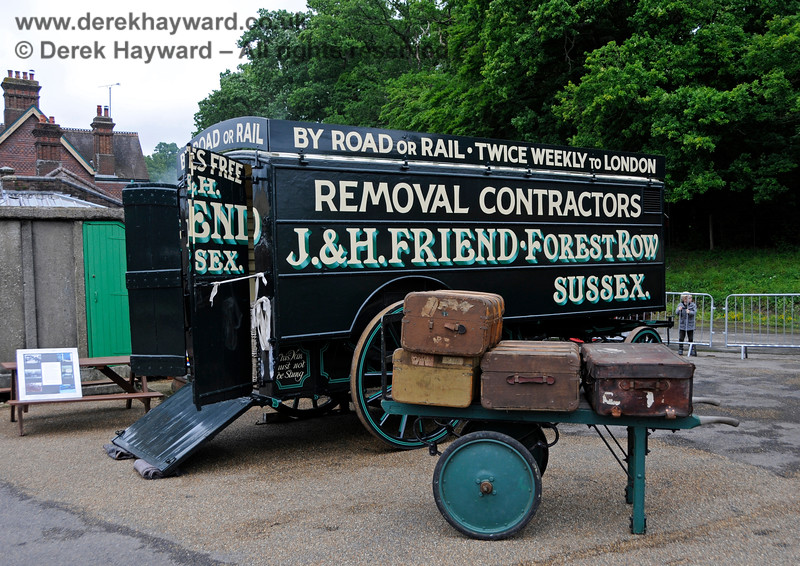 Road meets Rail, Horsted Keynes, 16.06.2019 19355