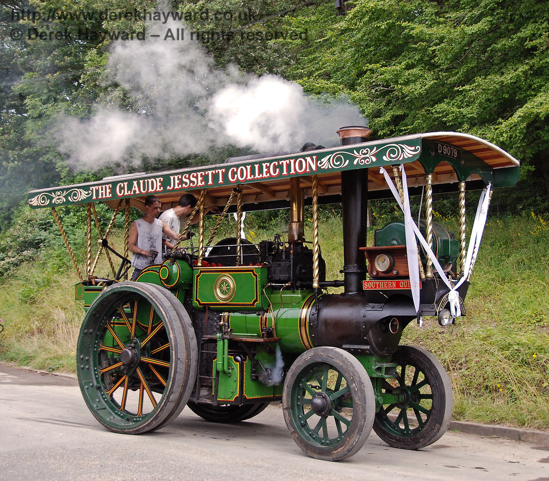 Traction engine at Horsted Keynes. 16.08.2008