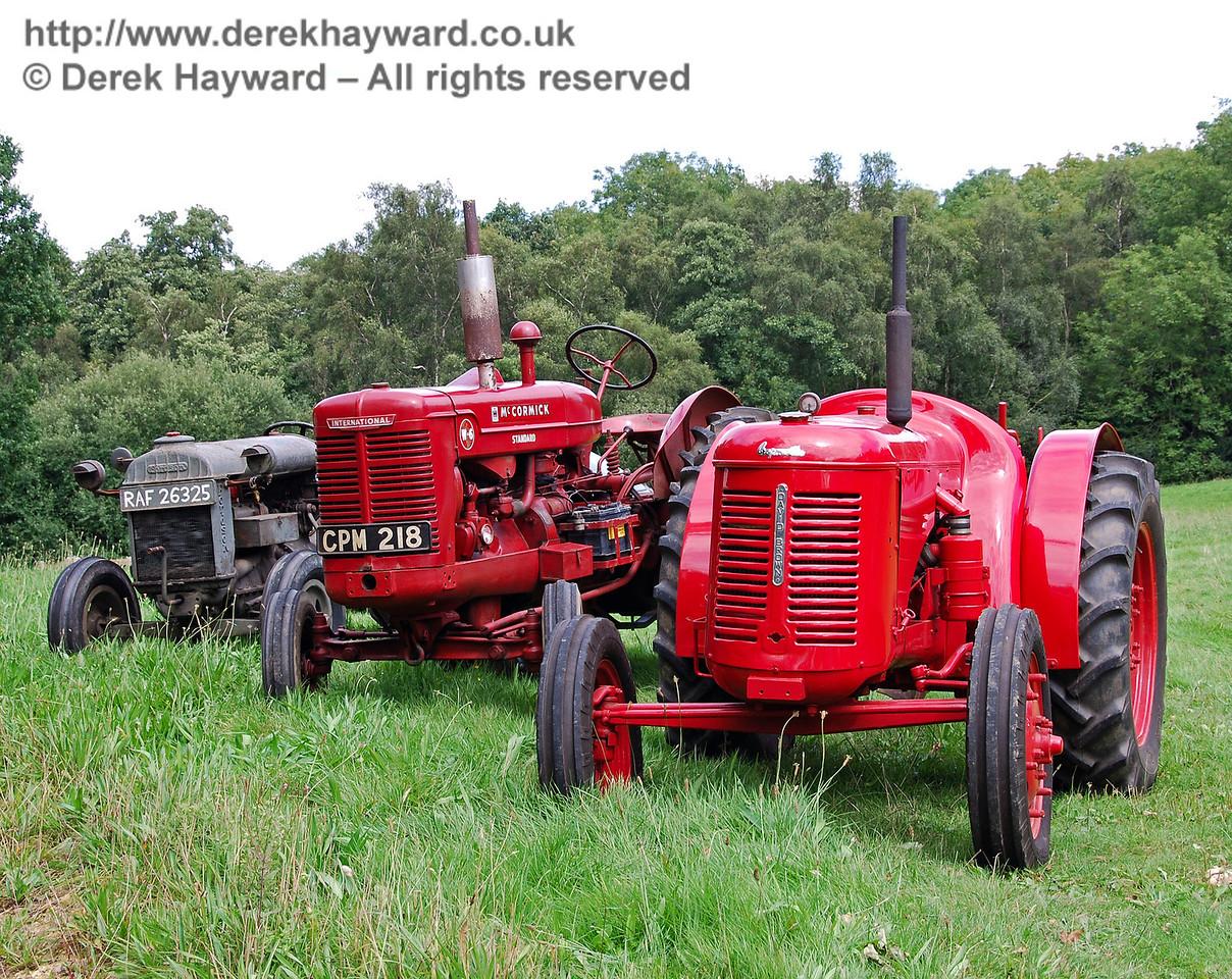 Classic tractors at Horsted Keynes. 16.08.2008