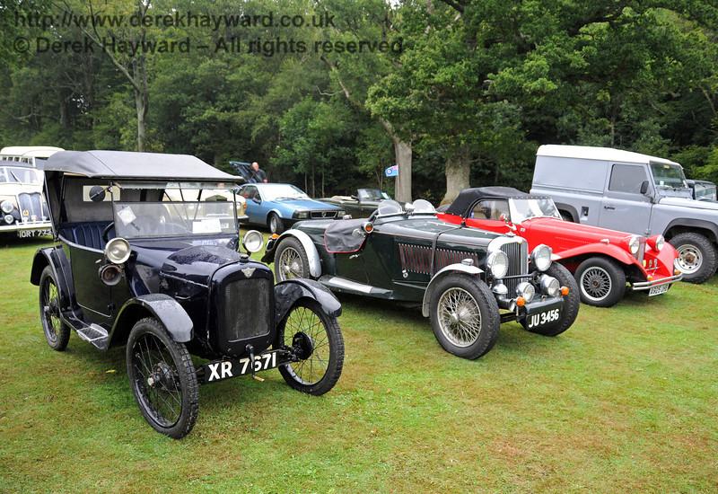 A display of vehicles at Horsted Keynes 21.08.2010  4141