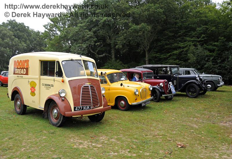 A display of vehicles at Horsted Keynes 21.08.2010  4142
