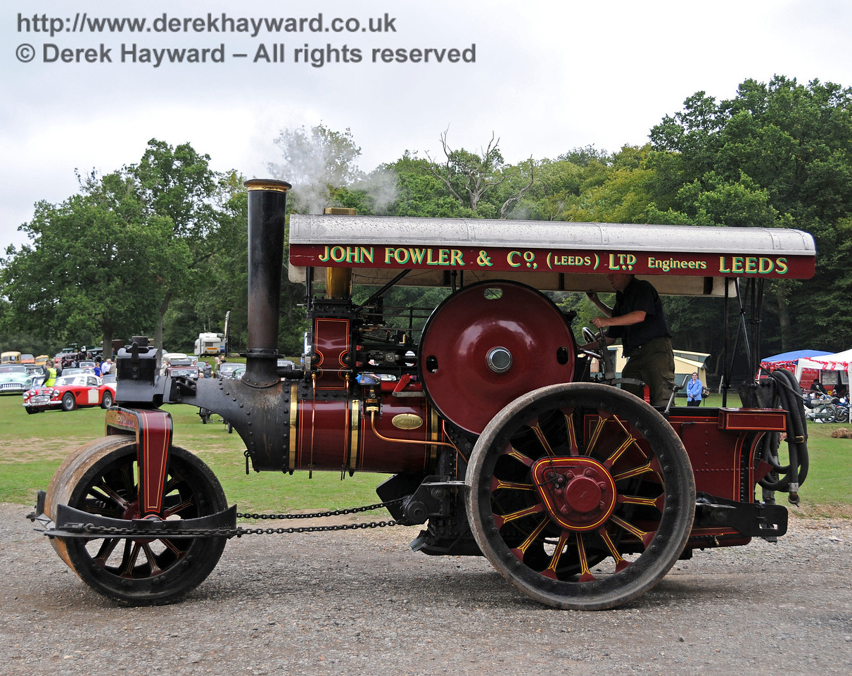 A traction engine at Horsted Keynes 21.08.2010  4220