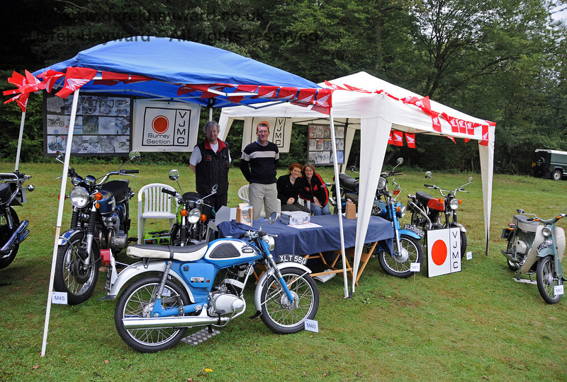 The Surrey Section of the Vintage Japanese Motorcycle Club. Horsted Keynes 21.08.2010  4132