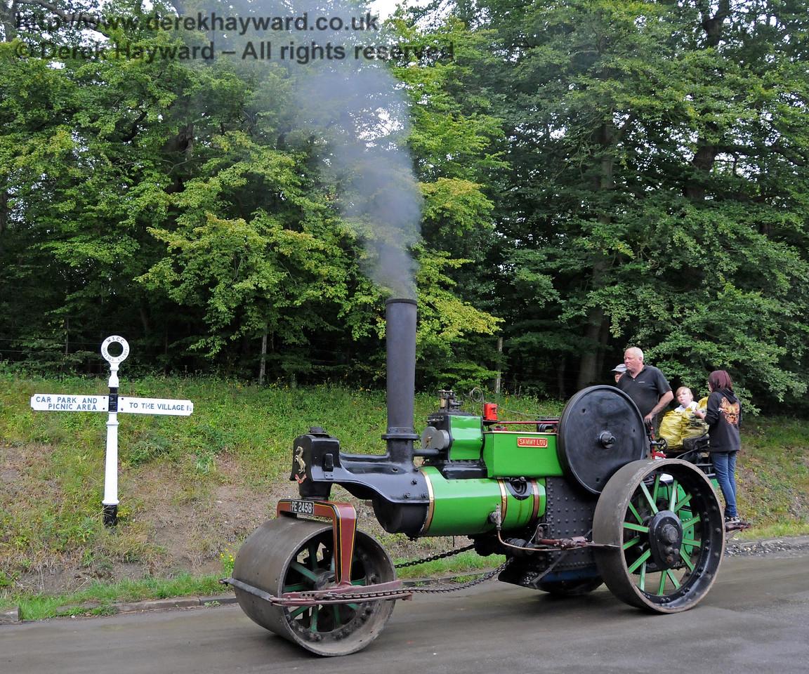 Traction engine Sammy Lou at Horsted Keynes 22.08.2010  4309