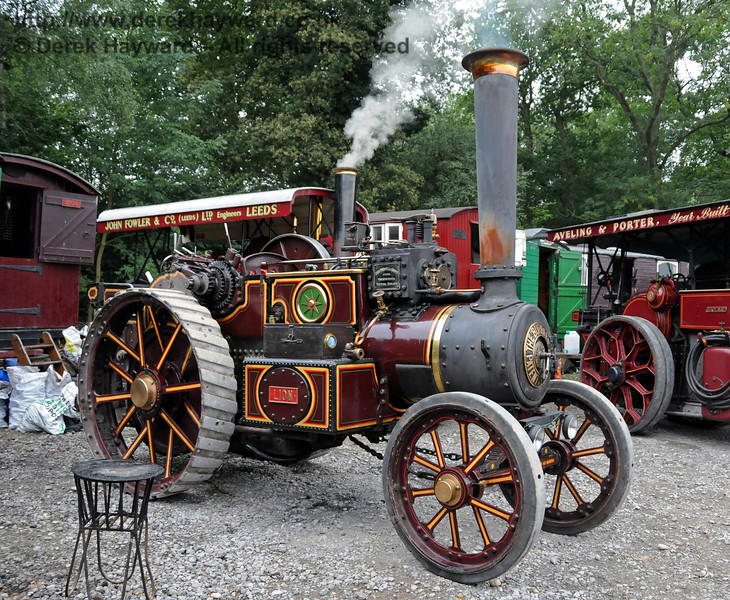 A traction engine at Horsted Keynes 21.08.2010  4161