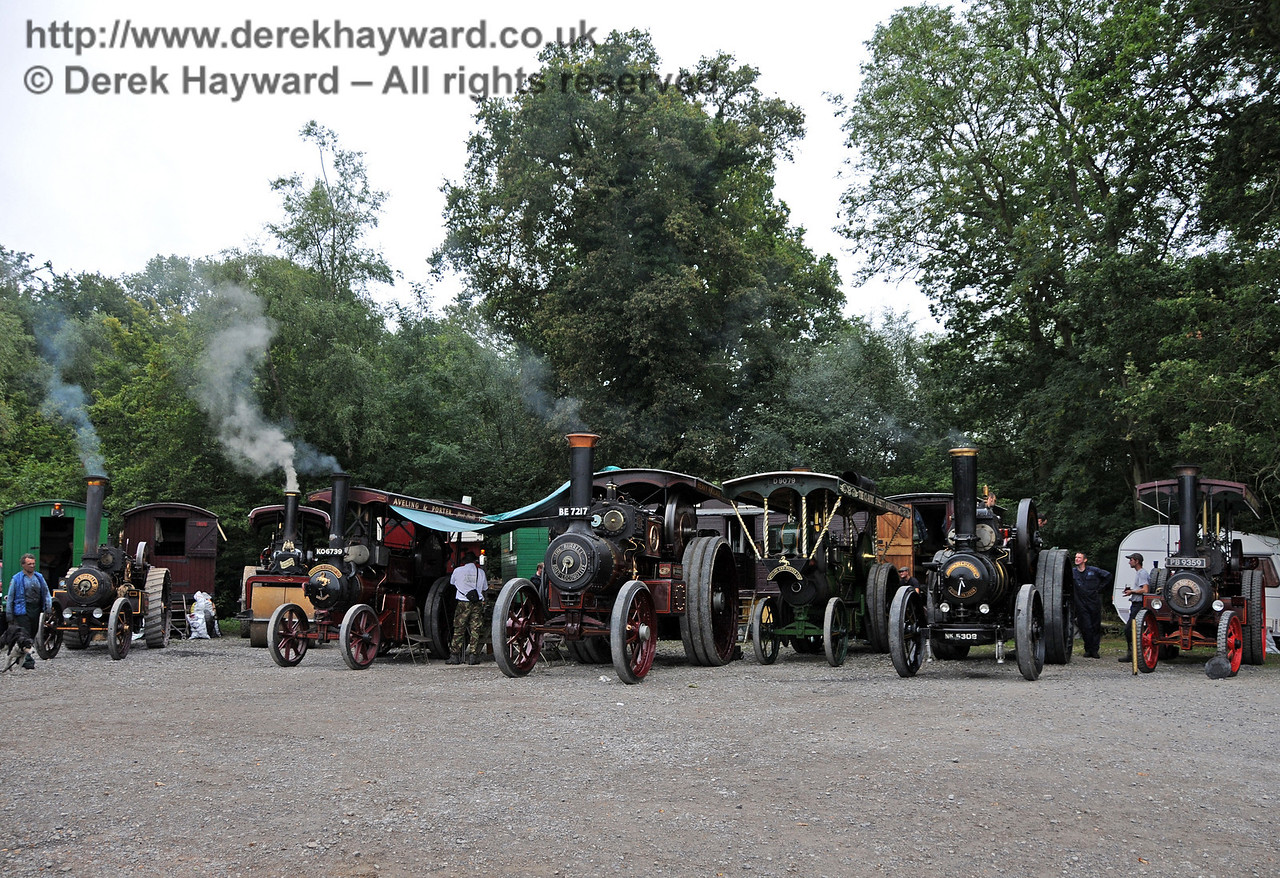 Traction engines at Horsted Keynes 21.08.2010  4159