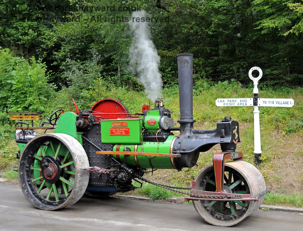 Traction engine Sammy Lou at Horsted Keynes 21.08.2010  4234