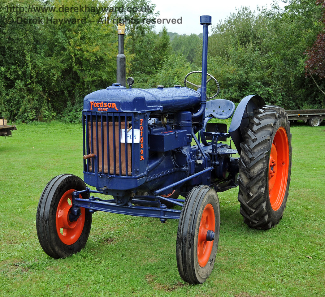 The winning entry in the Agricultural Section was Fordson Major E27N, KKN992, entered by Heidi Mowforth. The vehicle was found in a scrapyard in Three Oaks in bad condition and rebuilt. Horsted Keynes 22.08.2010  4313