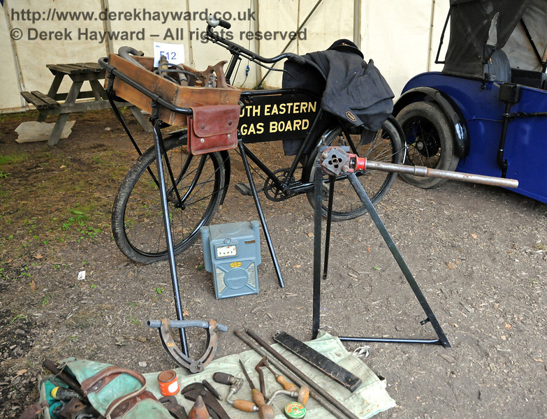 An unusual South Eastern Gas Board display. Horsted Keynes 21.08.2010  4168