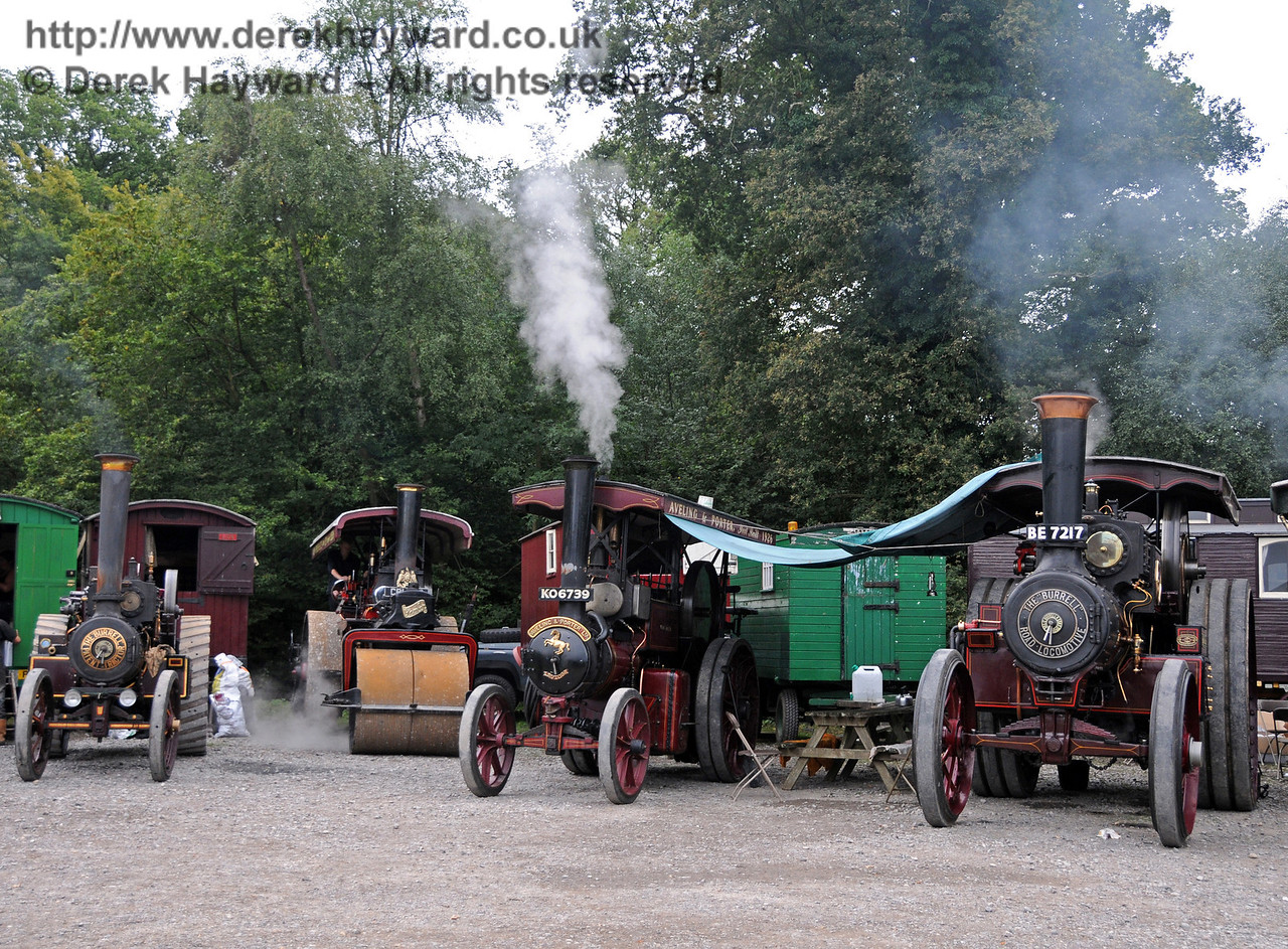 Traction engines at Horsted Keynes 21.08.2010  4216