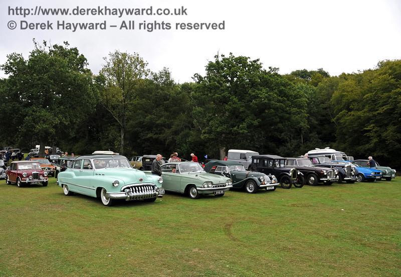 A display of vehicles at Horsted Keynes 21.08.2010  4206