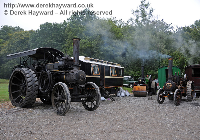 Traction engines at Horsted Keynes 21.08.2010  4160