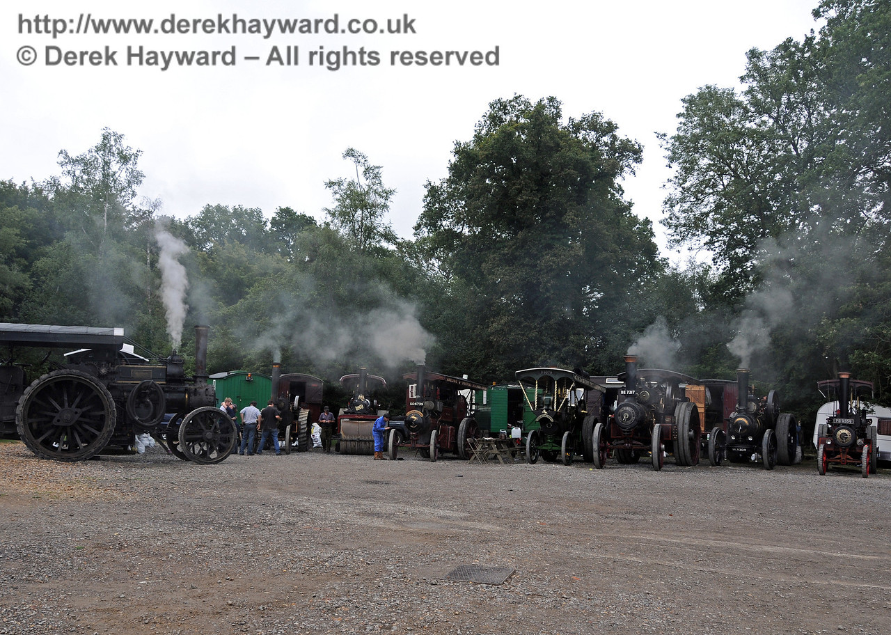 Traction engines at Horsted Keynes 22.08.2010  4302