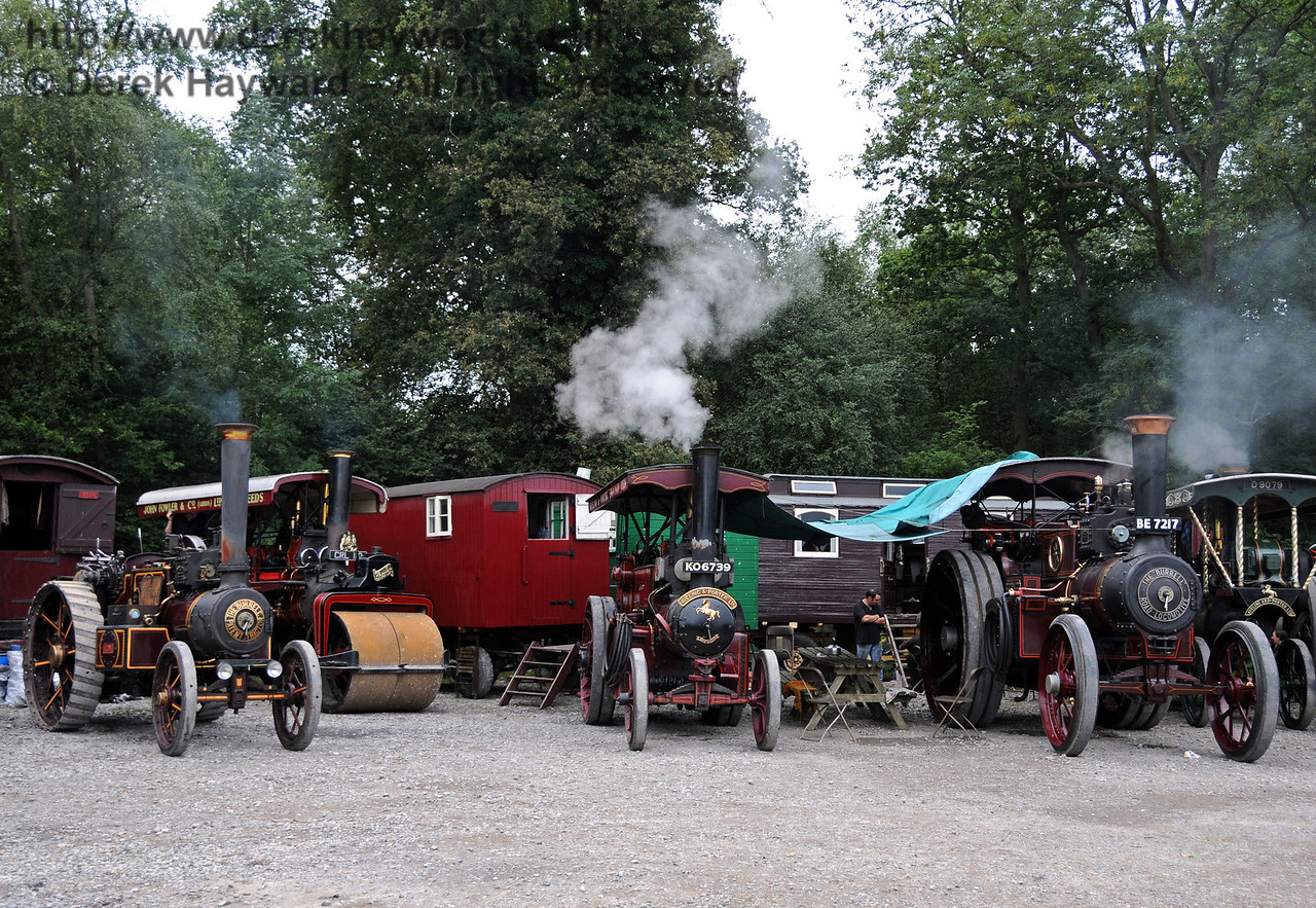 Traction engines at Horsted Keynes 21.08.2010  4215