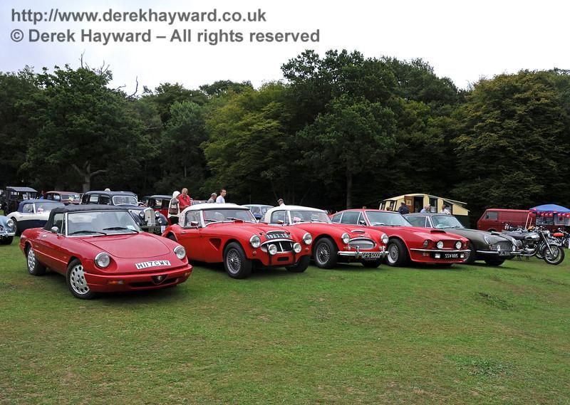 A display of vehicles at Horsted Keynes 22.08.2010  4301