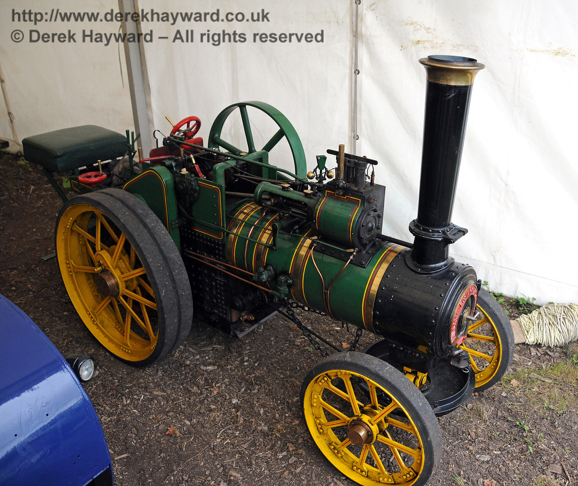Traction engines came in all sizes... Horsted Keynes 22.08.2010  4310