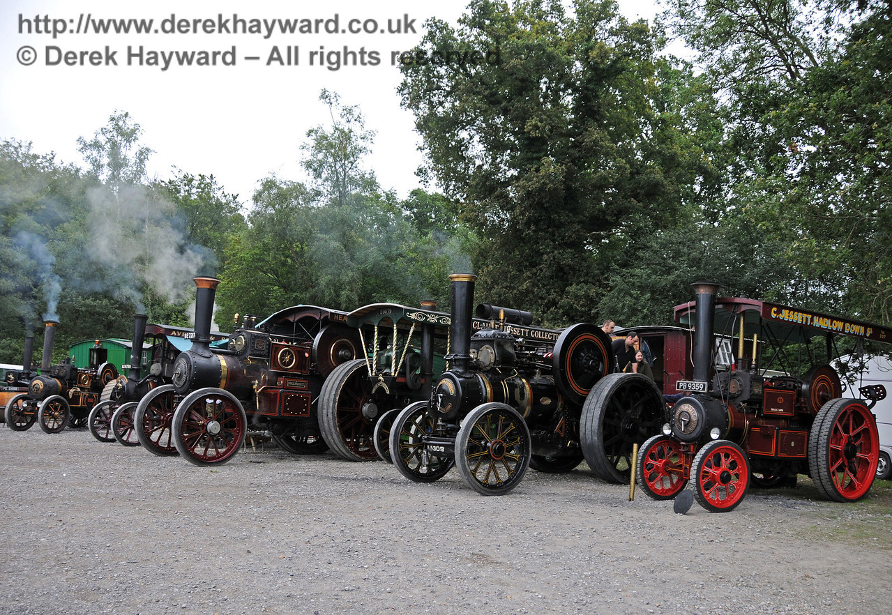 Traction engines at Horsted Keynes 21.08.2010  4157