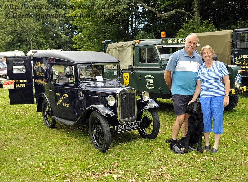Winner Commercial Sue and Jeremy Thorne Austin 7 Van London Area Cup 140811 2600 E