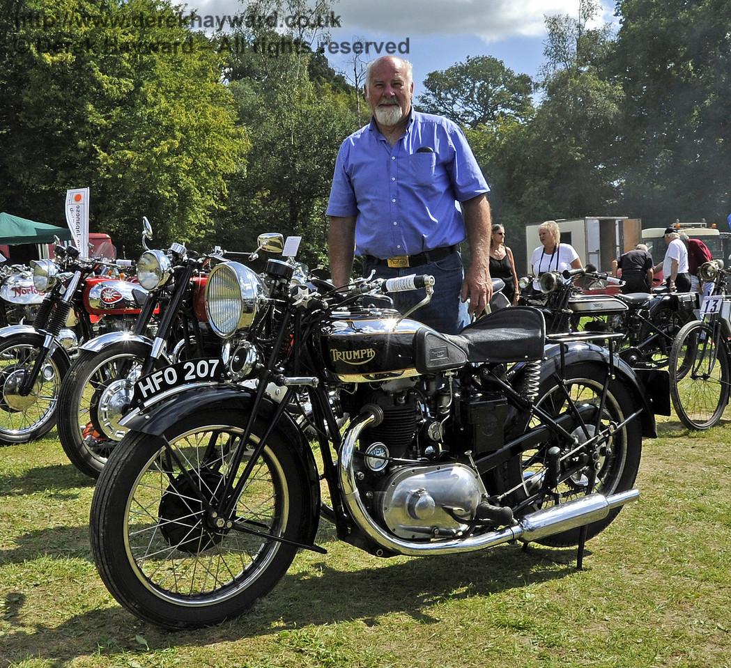 Winner Pre War Mcycle Eric Holman 1935 Triumph 140811 2691 E