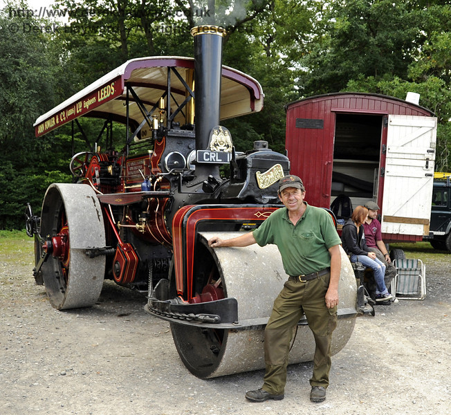 Winner Traction Engine Jonathan Varton 1936 John Fowler roller Lewes Cup 140811 2593 E