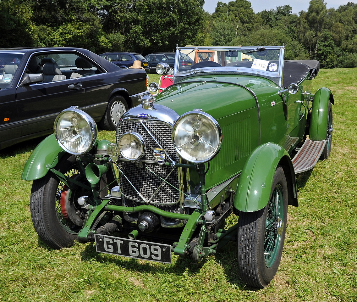 A 1931 Lagonda 2 litre, GT609, won the London Cup for best pre-war motor car.  Unfortunately the owner, Alan Rendall, was not available either during the judging or at the prize giving.  Bluebell Railway Vintage Transport Weekend, Horsted Keynes, 12.08.2012  5526