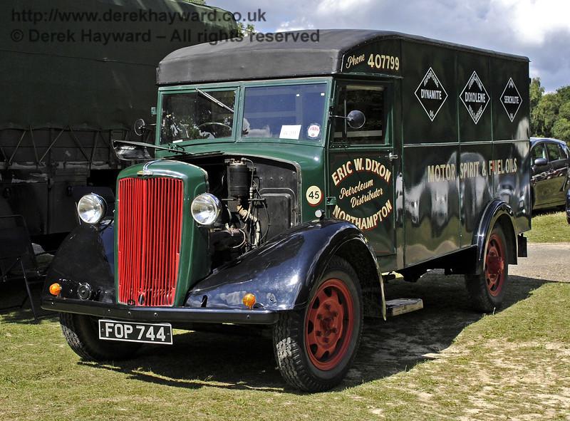 FOP744.  Vintage Transport Weekend, Horsted Keynes, 11.08.2013  7849