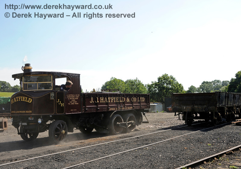 Vintage Transport Weekend, Horsted Keynes.  08.08.2015   13488