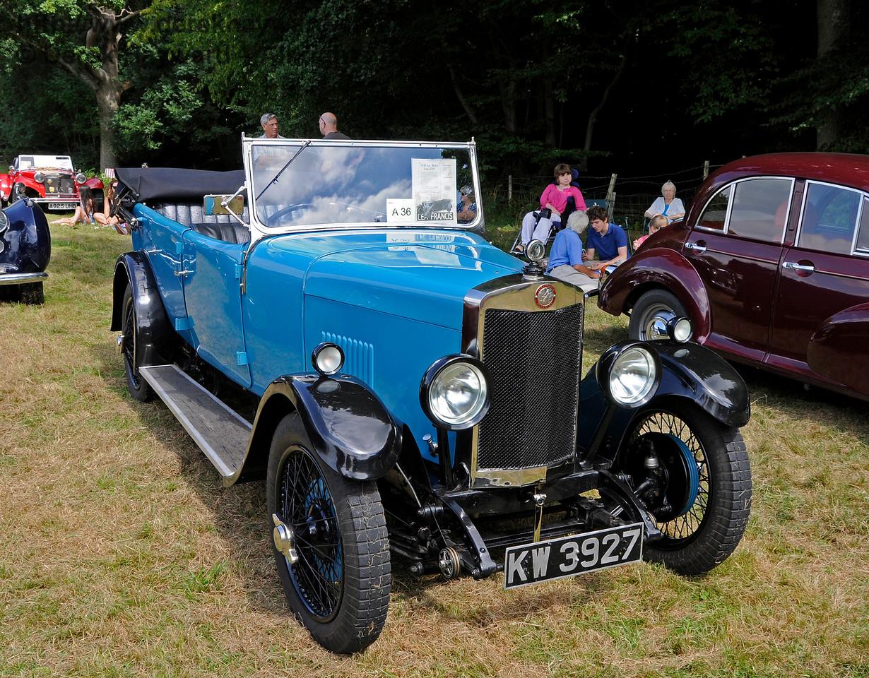 Best Pre-War Car was a Lea Francis, KW3927, owned by Geoff Elster.  Vintage Transport Weekend, Horsted Keynes, 14.08.2016  16174