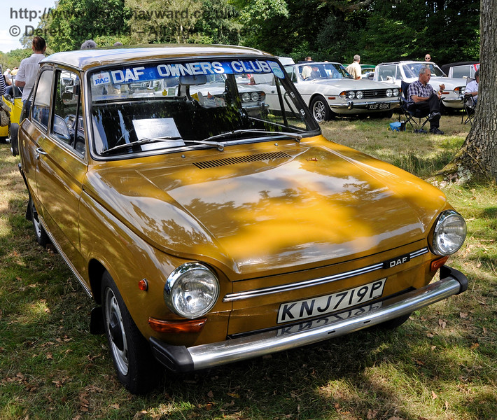 Best Post-War Car was a Daf, KNJ719P.  Vintage Transport Weekend, Horsted Keynes, 14.08.2016  16160