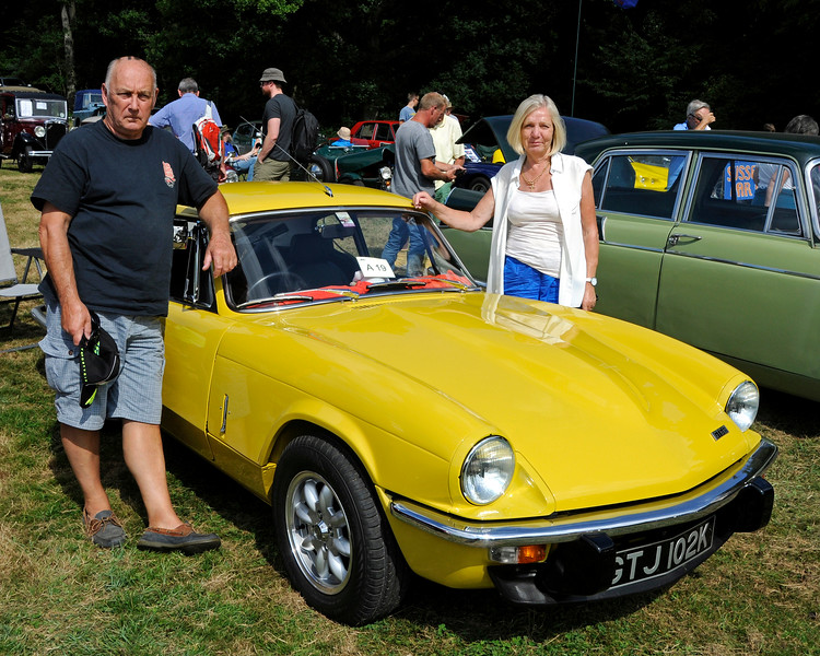 Highly Commended in the Cars was a GT6 Mk3, GTJ102K, owned by Ian and Christine Gordon.  Vintage Transport Weekend, Horsted Keynes, 14.08.2016  16195
