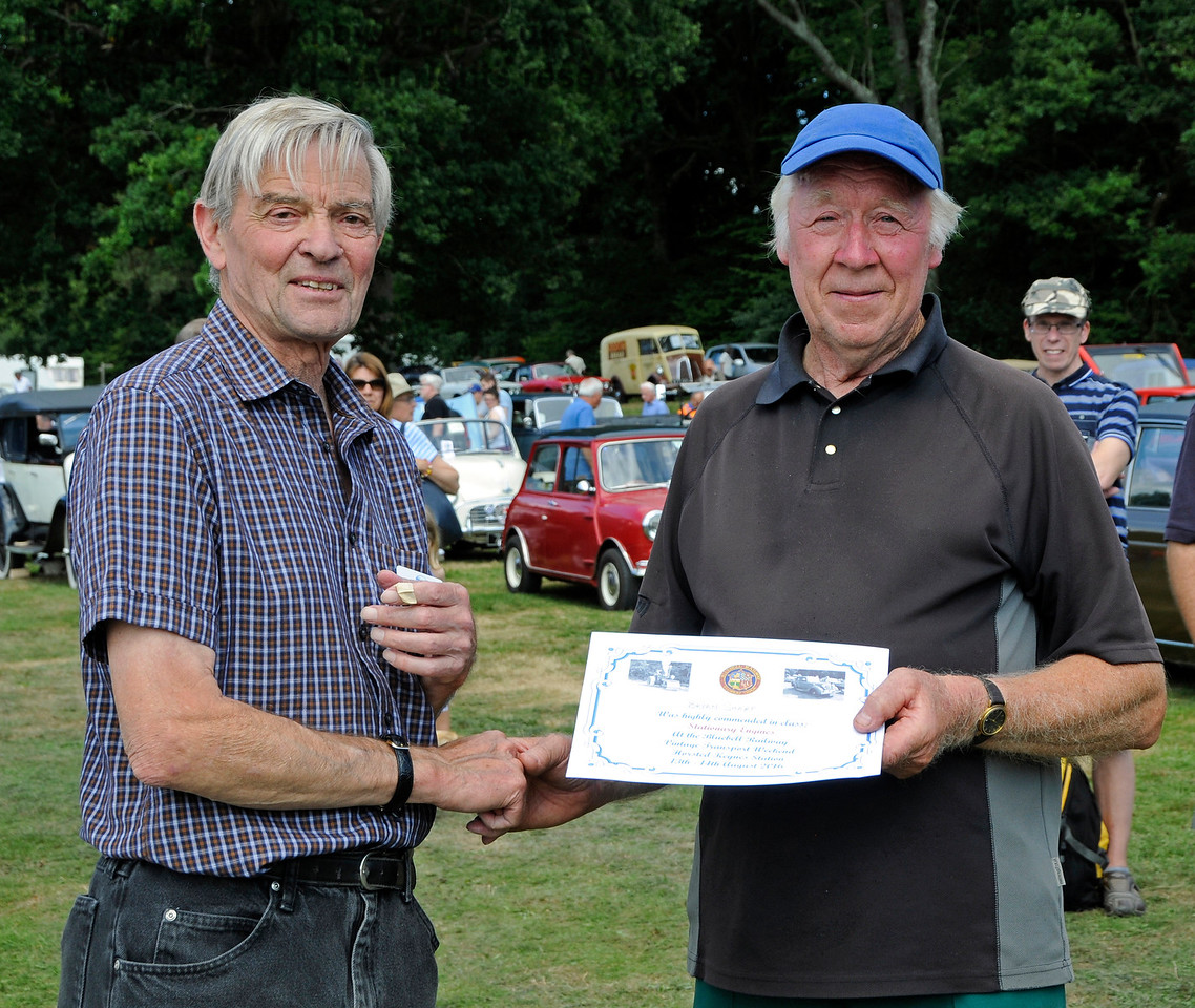 Highly Commended in the Stationary Engine category was Bryan Sharp for his Lister.  Vintage Transport Weekend, Horsted Keynes, 14.08.2016  16209