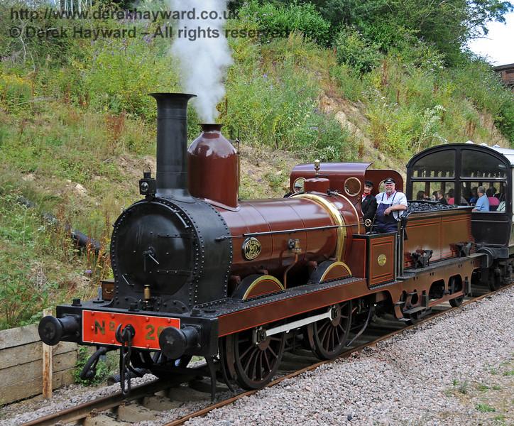 Furness Railway No.20 at Imberhorne Lane. 07.08.2010  3776