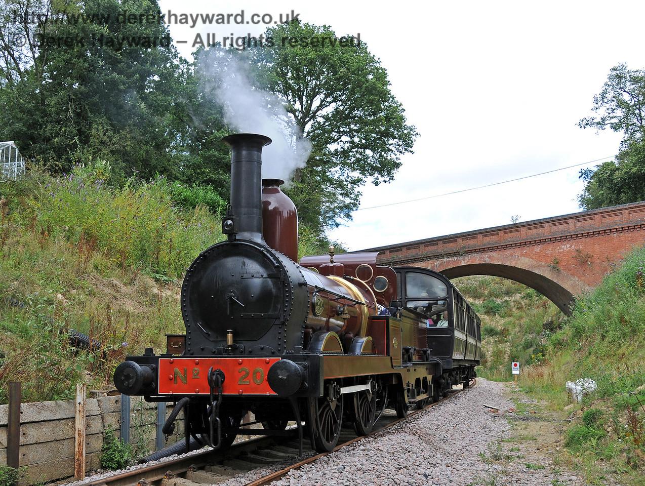 Furness Railway No.20 at Imberhorne Lane. 07.08.2010  3774
