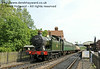 5643 leaves Sheffield Park Station. 12.07.2014  11206