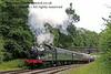 5643 steams north from Leamland Bridge.  05.07.2014  11077