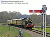 5643 steams towards New Road Bridge with the Pullman.  30.03.2014  8828