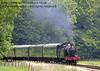 5643 steams north from Three Arch Bridge.  26.07.2014  9893