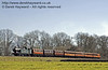 5643 approaches New Road Bridge with the Metropolitan coaches and the four wheelers.  16.03.2014  8725