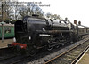 92212 stands at Horsted Keynes.  08.12.2012  5928