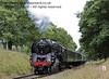 92212 steams past Horsted House Farm.  22.09.2013  8106