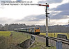 """73207 and 73119 """"Borough of Eastleigh"""" haul a special train towards New Road Bridge.  28.03.2013  6453"""