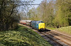 55019 Royal Highland Fusilier approaches Leamland Bridge.  18.04.2015   12278