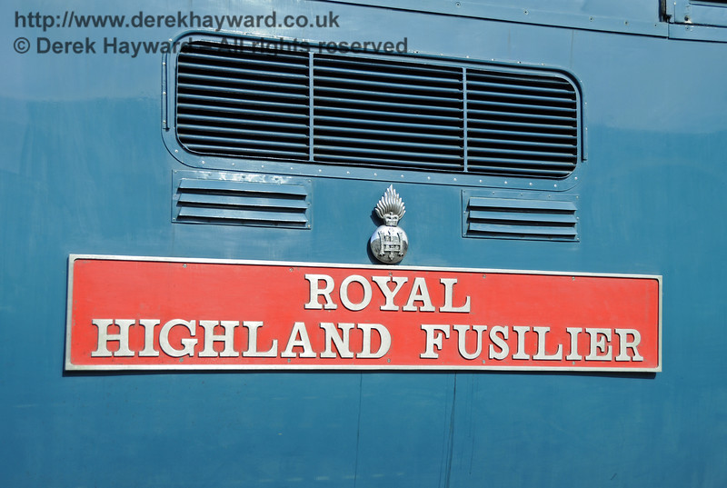 55019 Royal Highland Fusilier.  19.04.2015  12339