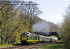D9009 Alycidon passes through Leamland Bridge.  18.04.2015   12290