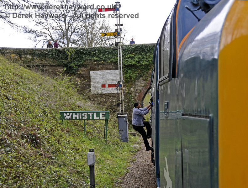 If you encounter a signal failure it is necessary to telephone the signalman....  (See next)  19.04.2015  12324