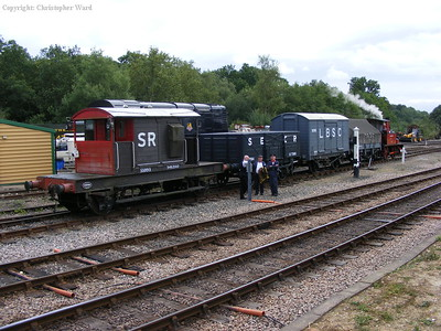 Baxter with a short freight at Horsted Keynes